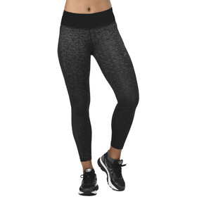 asics Crop Tights Print Kobiety, hexagon print fade performance black